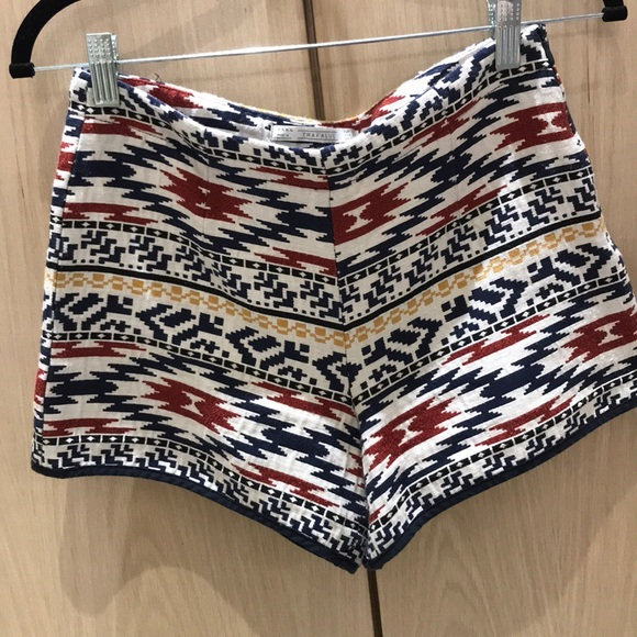 Zara Pants - Tribal Highwaisted Shorts